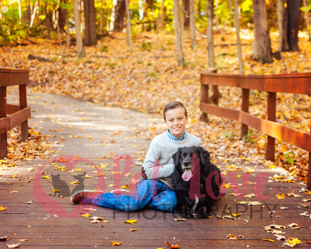 A Boy & His Dog | Environmental Portrait | Cincinnati Dog Photographer